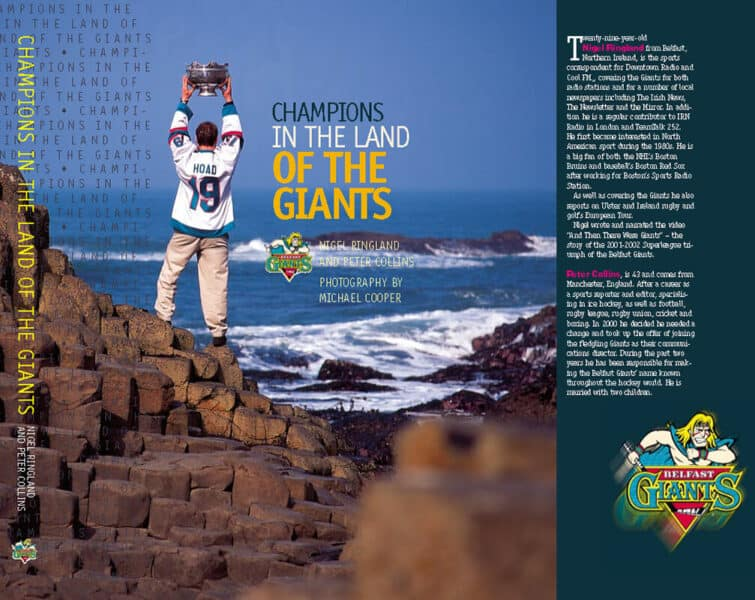 Champions in the Land of the Giants by Nigel Ringland and Peter Collins