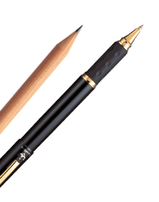 Pen and Pencil used by Tygeronline.com