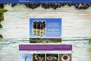 SilviosFarm Aronia Berries Page Sample