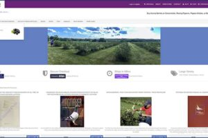 SilviosFarm/store Store Home Page along with Store Banners and Menu Dropdown