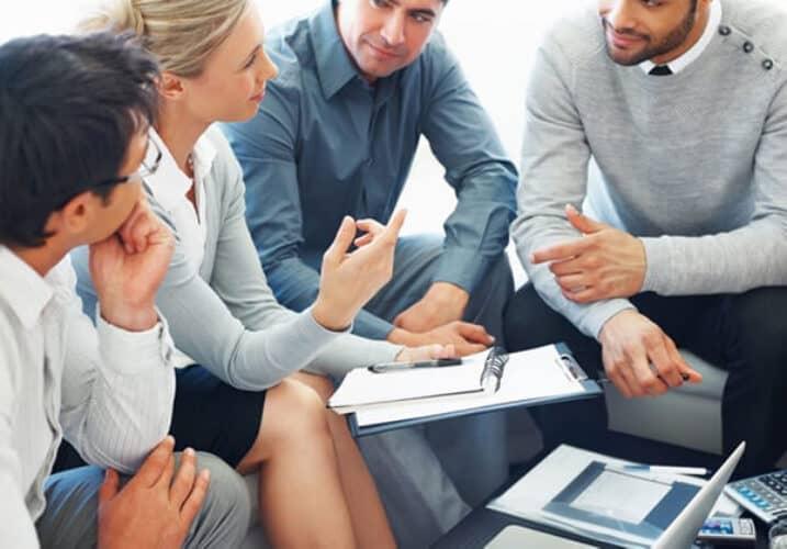 Team Discussion underway