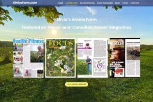 Silvo's Farm - Silviosfarm.com - Aronia Berry Publications