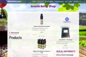 Silvo's Farm - Silviosfarm.com - Aronia Berry Shop