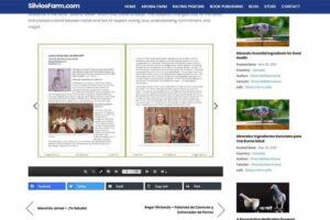 Silvo's Farm - Silviosfarm.com - Blog Article with PDF Book Reader for Articles