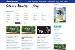 Silvo's Farm - Silviosfarm.com - Searchable Blog Articles