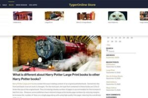 Tygeronline Store - Tygeronline.com/store - Blog Mega Menu