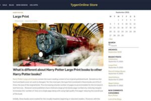 Tygeronline Store - Tygeronline.com/store - Blog Single Post