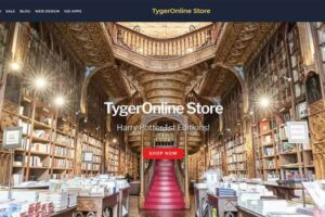 Tygeronline Store - Tygeronline.com/store - Harry Potter First Editions