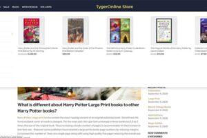 Tygeronline Store - Tygeronline.com/store - Mega Menu