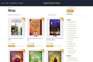 Tygeronline Store - Tygeronline.com/store - Shop Items